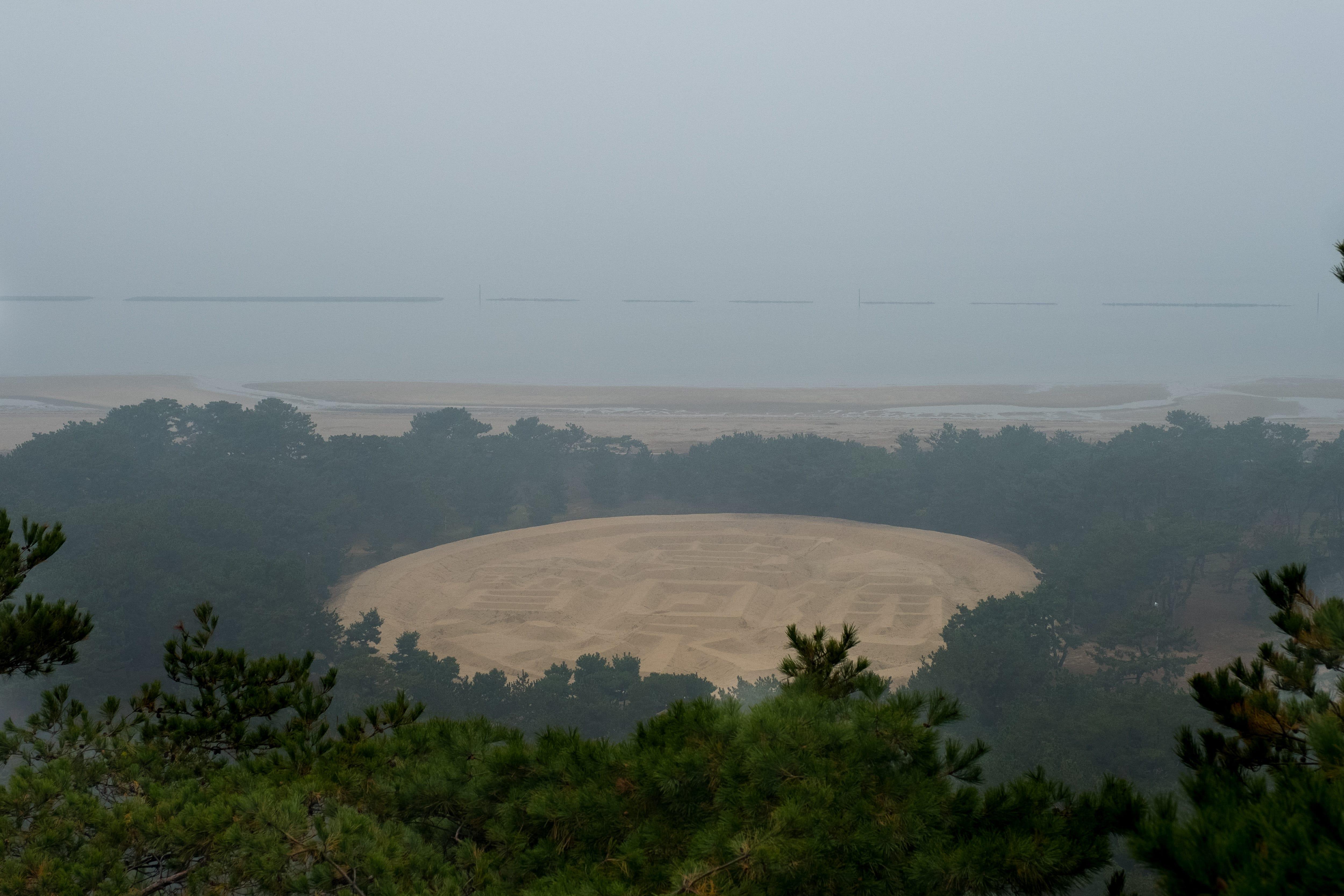 逛完日本香川世界12個絕景之一「紫雲出山」,再去「父母濱」探探…