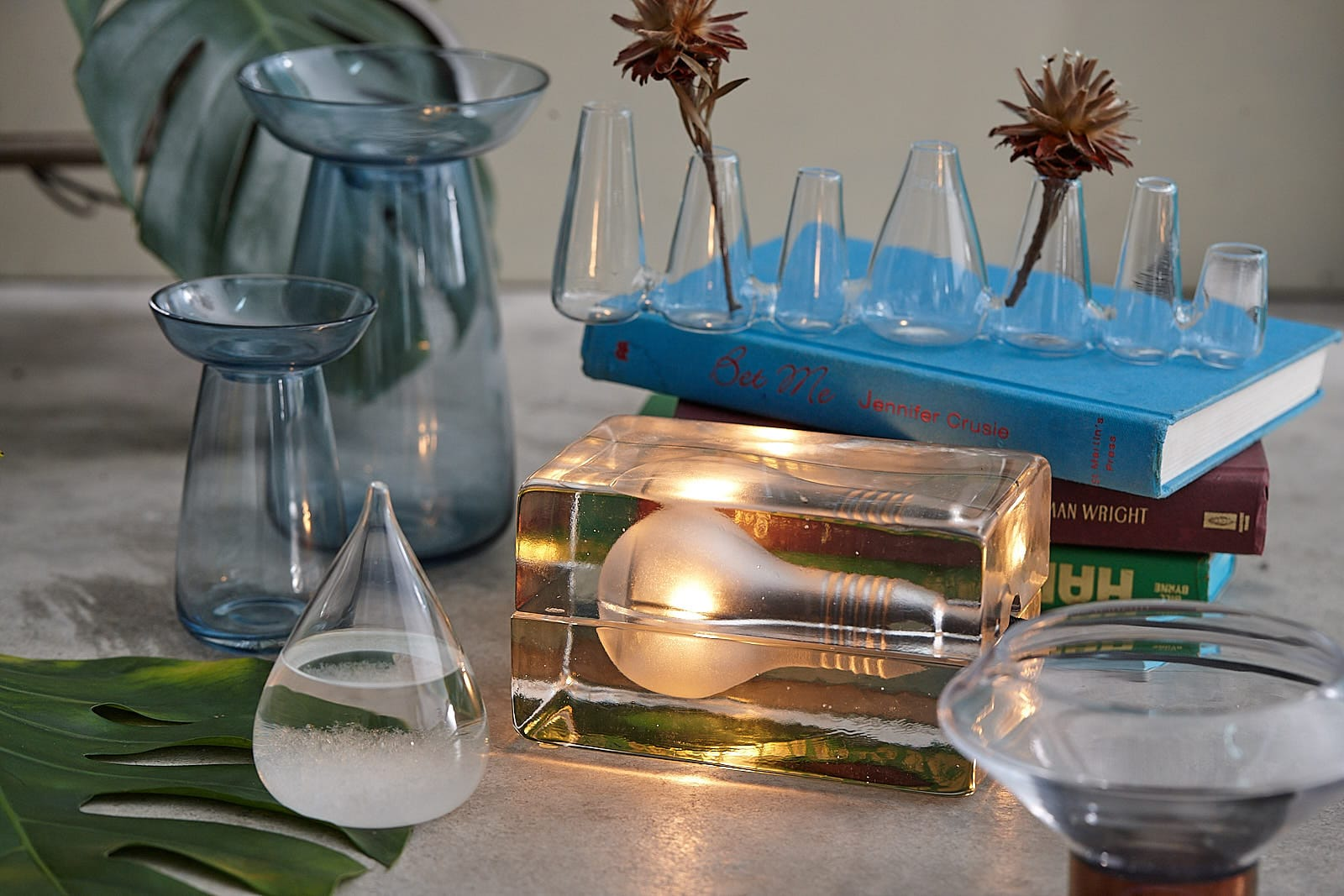 玻璃設計鬼斧神工,清澈無瑕值得細細收藏!