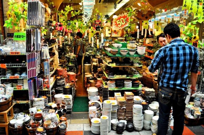 支撐全日本的廚房 大阪千日前的「道具屋筋商店街」