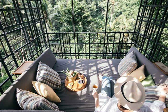 峇里島叢林風下午茶,美到讓人捨不得離開!