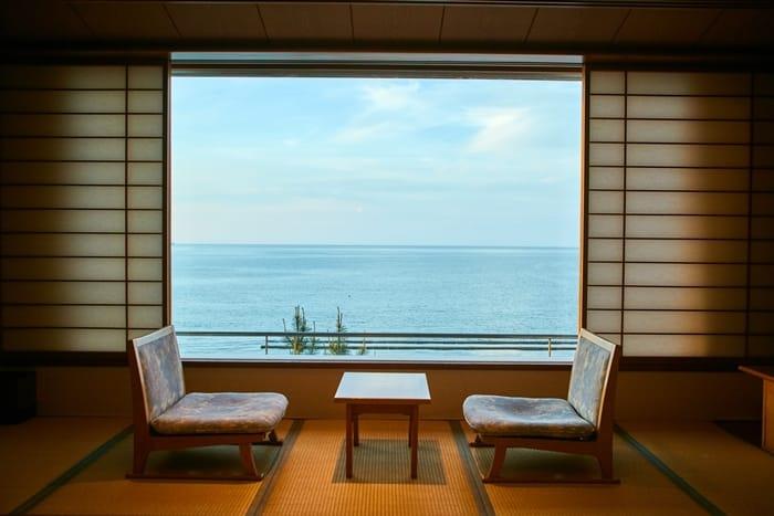 眺望日本海的絕景湯治,米子皆生溫泉 華水亭