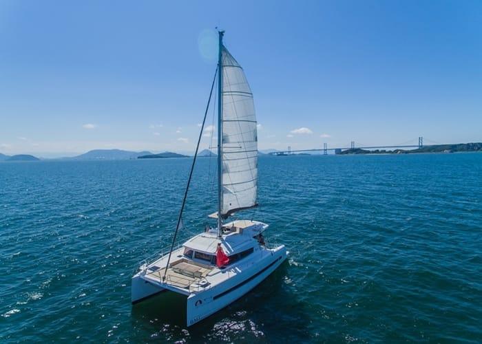 瀨戶內海奢華遊艇 徜徉極品鑽石海