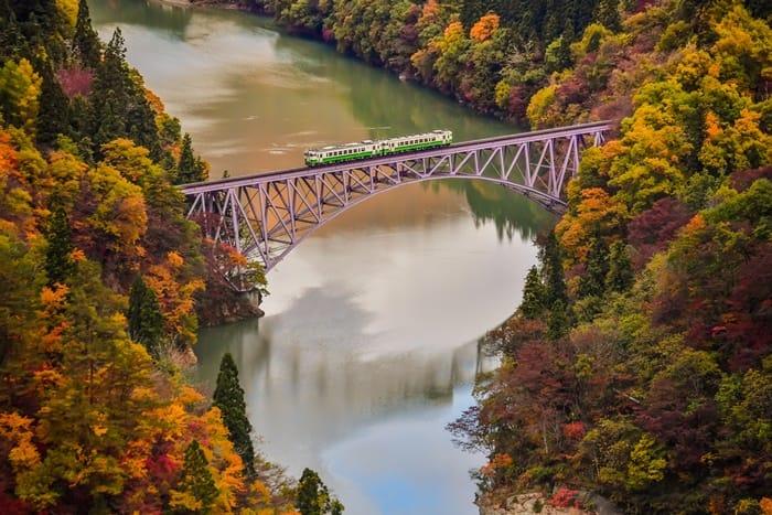 鐵道攝影迷的絕景祕境 日本福島。只見線