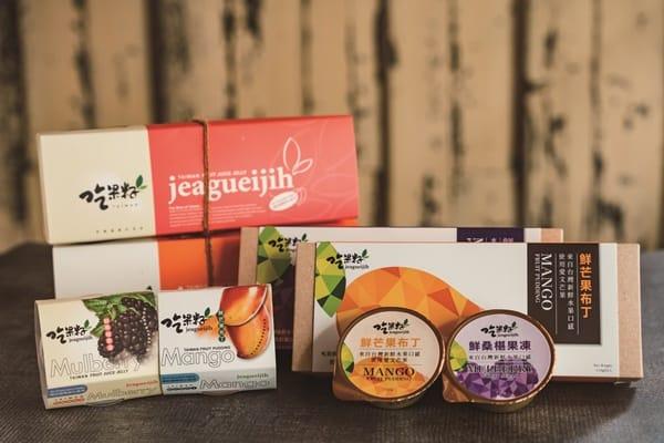 軟嫩Q彈 來自台灣新鮮水果口感 吃果籽Jeagueijih
