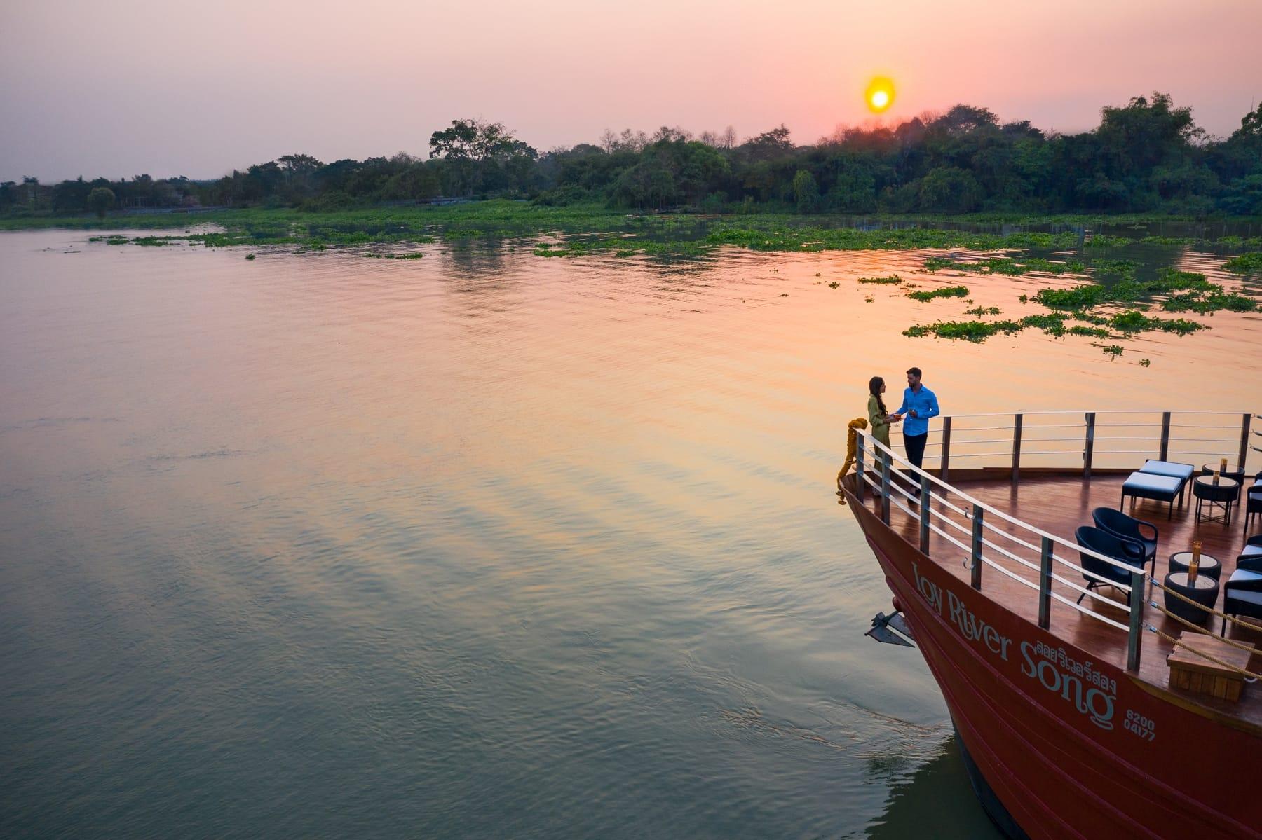 後疫情時代 泰國洛依河之歌號內河遊船成功首航
