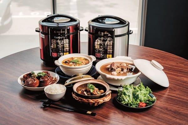 日本銷售No.1 在家也能輕鬆享用名店的招牌菜 CookingPro智能壓力萬用鍋