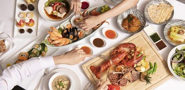 餐廳開放內用 台北遠東香格里拉以美食住房迎賓