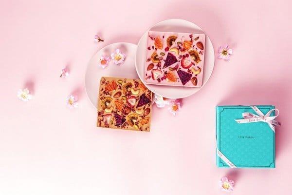 一禮推七夕情人禮盒 讓愛皂動 超美型手工果乾巧克力,浪漫登場