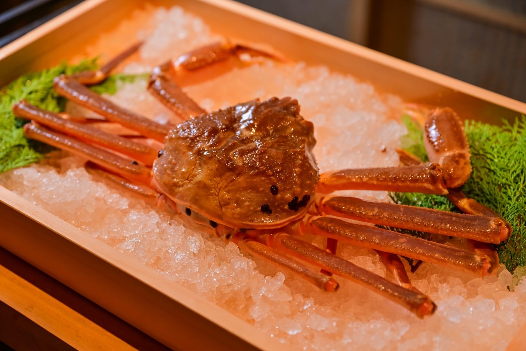 秋分時節 蟹肉正肥