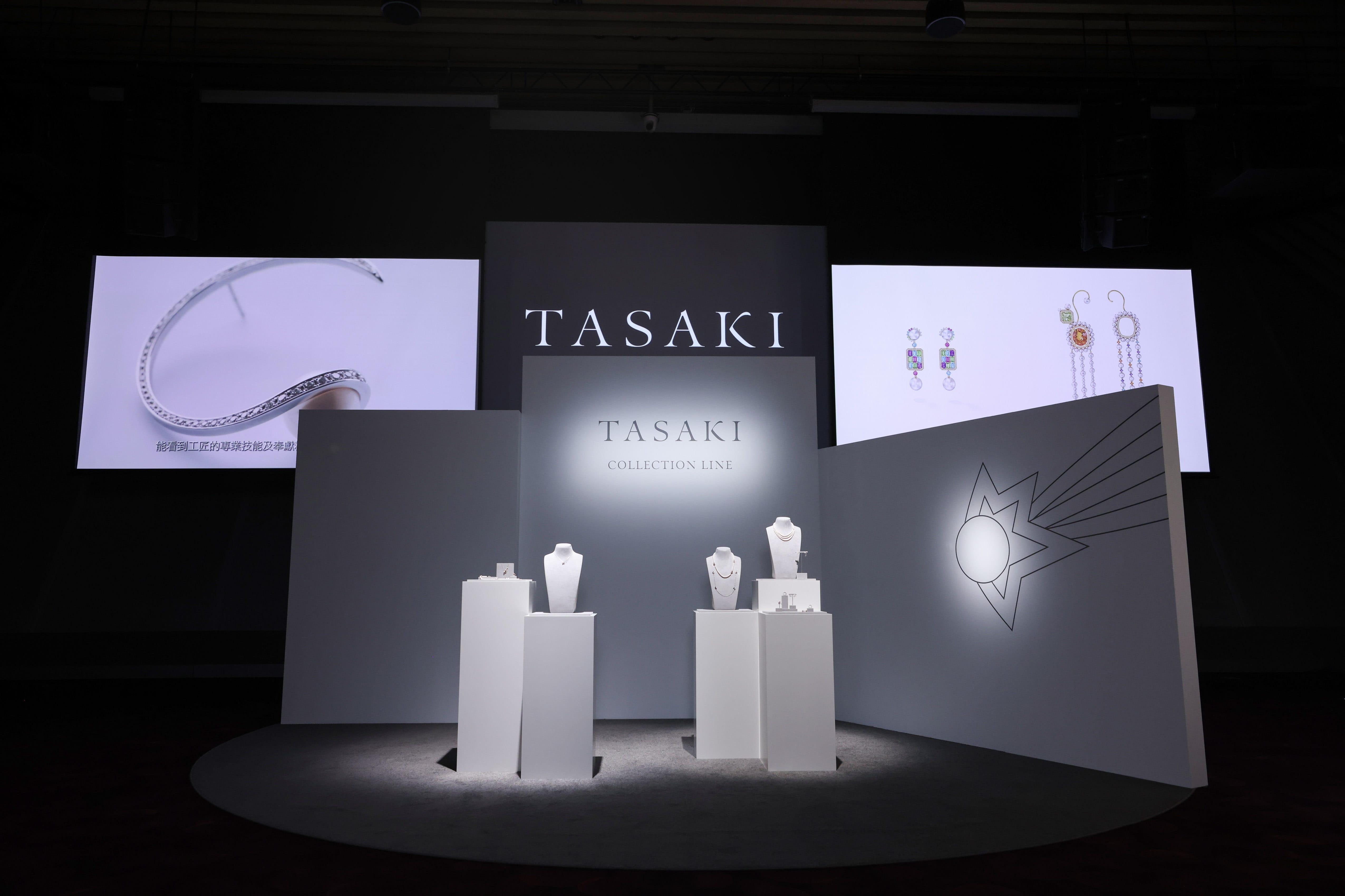 日本珠寶品牌TASAKI 首次於台北舉辦高級珠寶展 女神楊謹華佩戴頂級珠寶